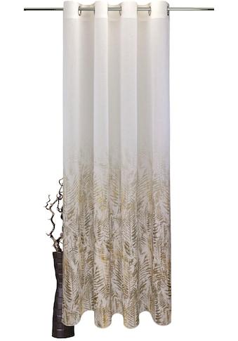 VHG Vorhang »Fern Leaf«, Deko Fixmaß,Verlauf,Digitaldruck kaufen