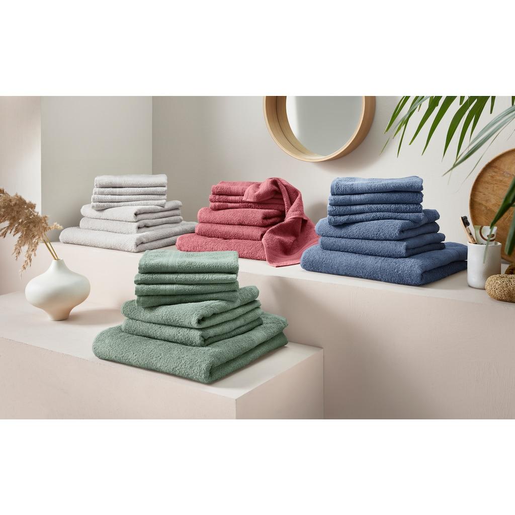 OTTO products Handtuch Set »Lennja«, aus reiner Bio-Baumwolle