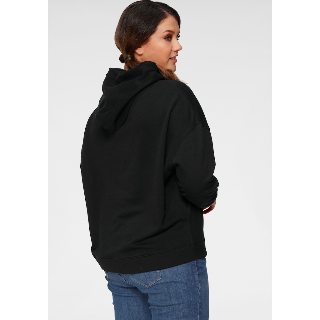 Levi's® Plus Kapuzensweatshirt »Plus Graphic Batwing Hoodie«, Großer Logo-Print