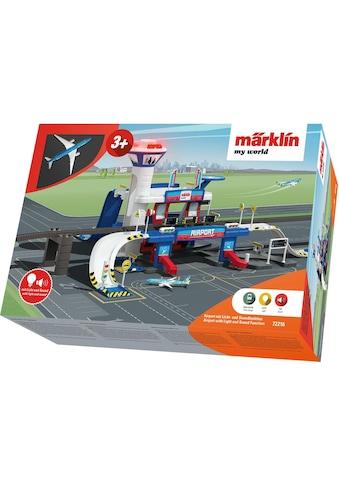 Märklin Spiel-Gebäude »Märklin my world - Airport mit Licht- und Soundfunktion - 72216« kaufen