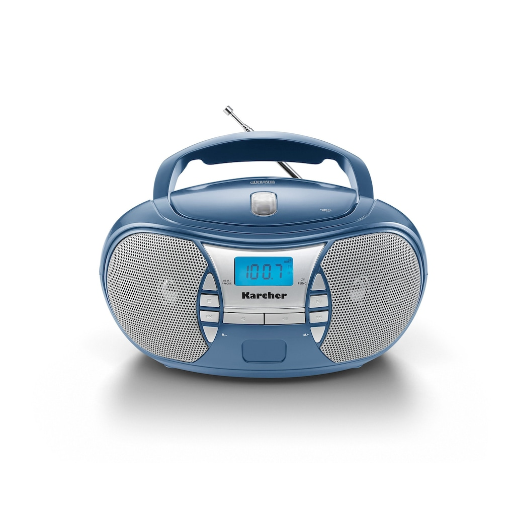 Karcher CD-Radiorecorder »RR 5025-C«, (CD 2.2 W)