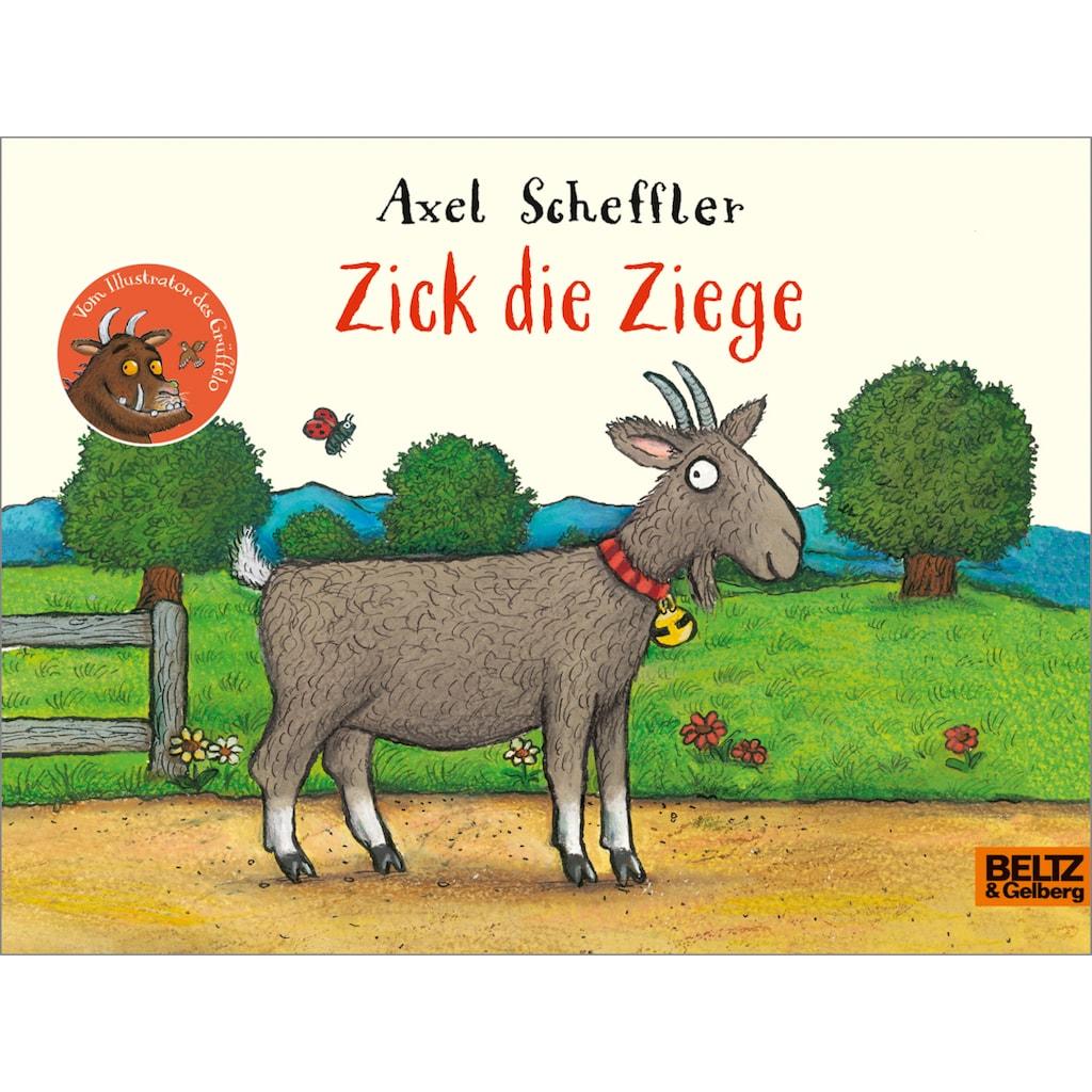 Buch »Zick die Ziege / Axel Scheffler, Franz Hohler«