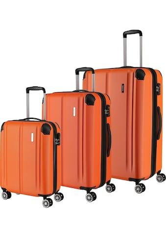 """travelite Trolleyset """"City, orange"""", 4 Rollen, (3tlg.) kaufen"""