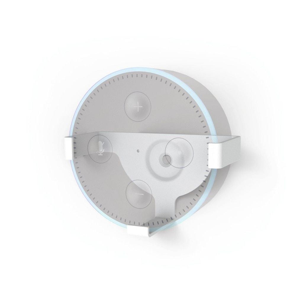 Hama Wandhalterung für Amazon Echo Dot (2. Generation), Weiß