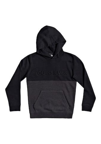 Quiksilver Hoodie »Emboss Block« kaufen
