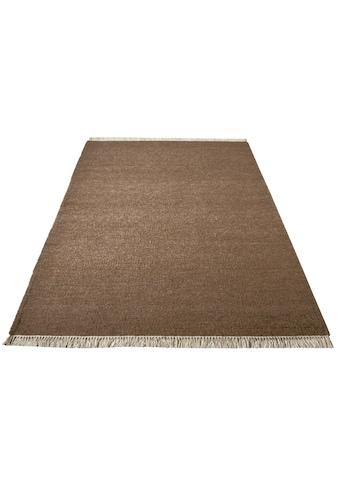 Home affaire Wollteppich »Victor«, rechteckig, 8 mm Höhe, reine Wolle, beidseitig... kaufen