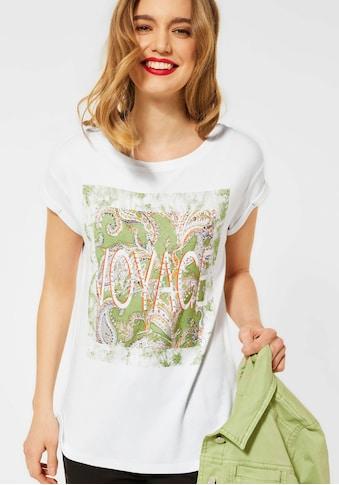 STREET ONE T-Shirt, mit Rundhalsausschnitt kaufen