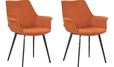 INOSIGN Esszimmerstuhl »Bente«, 2er-Set, Sitz und Rücken gepolstert, in 3 verschiedenen Farben kaufen
