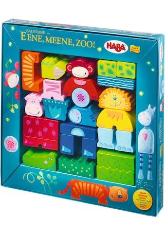 "Haba Spielbausteine ""Ene, mene, Zoo!"", Holz, (25 - tlg.) kaufen"