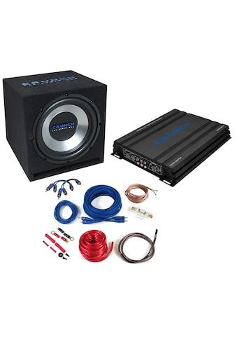 Crunch 4 - Kanal Basspaket, 1000 Watt »CBP1000«, (ein Set) kaufen