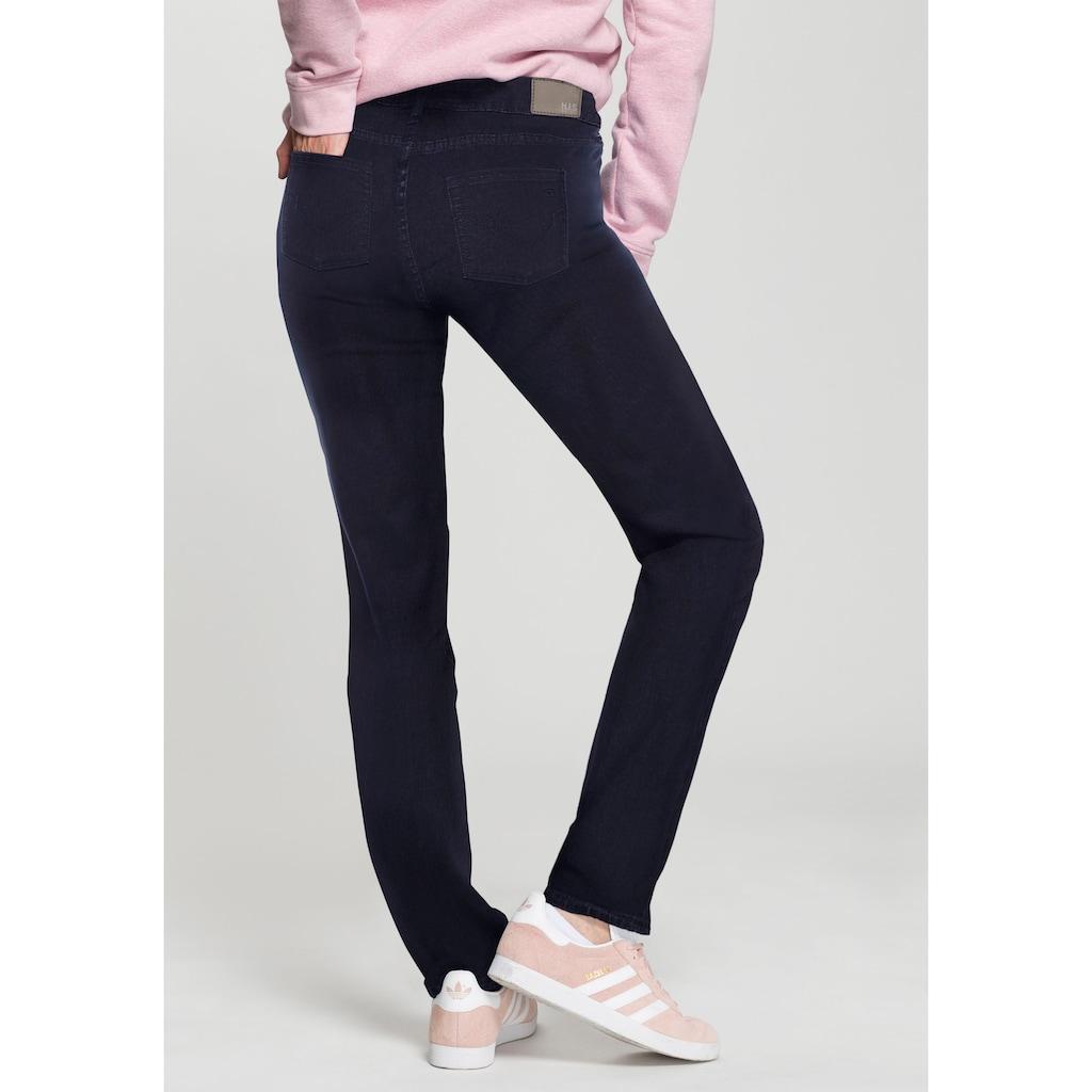 H.I.S Straight-Jeans »Mid-Waist«, Nachhaltige, wassersparende Produktion durch OZON WASH
