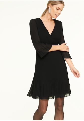 Comma Plisseekleid kaufen