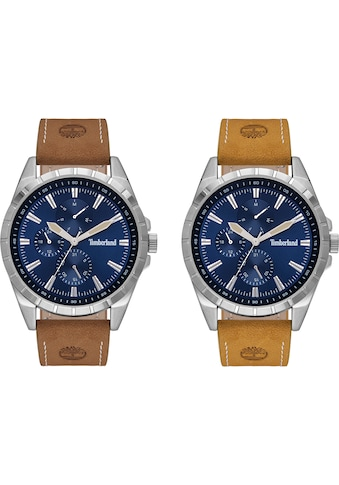 Timberland Multifunktionsuhr »BOXBOROUGH, TBL15909JYS.03AS« (Set, 2 tlg., mit Wechselband) kaufen