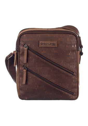 GreenLand Nature Umhängetasche »NATURE leather-cork«, mit RFID-Schutz kaufen