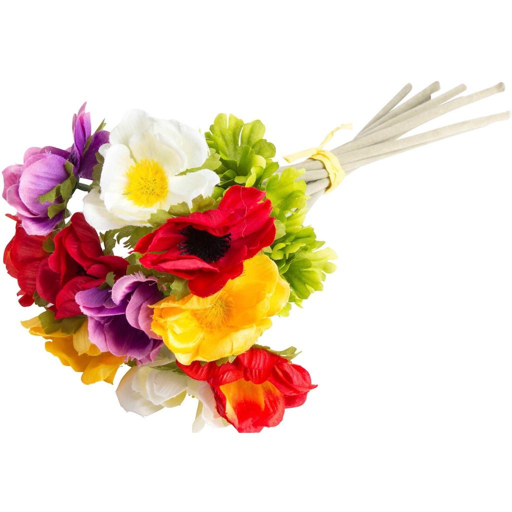 Botanic-Haus Kunstblume »Anemonenbündel«