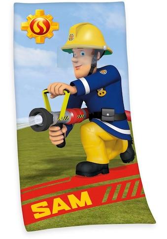"""Badetuch """"Feuerwehrmann Sam"""", Feuerwehrmann Sam kaufen"""