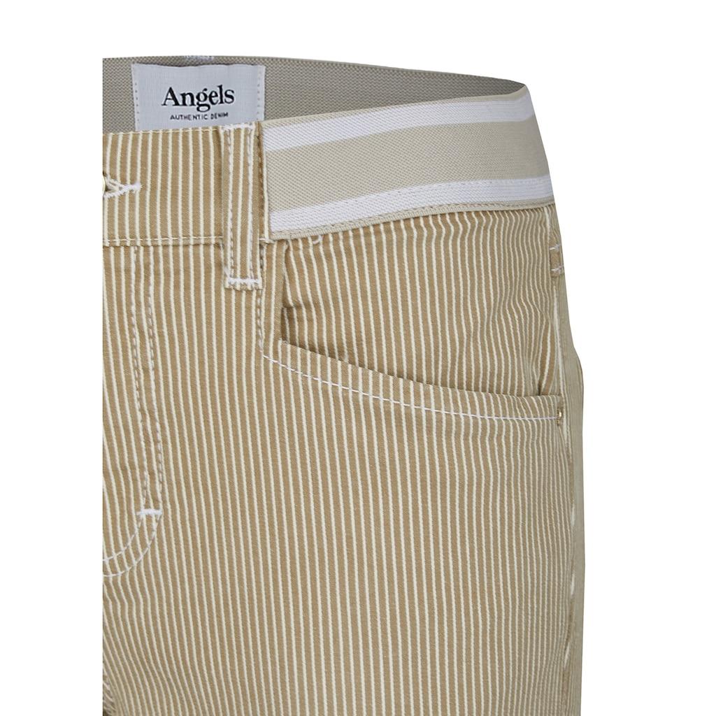 ANGELS Ankle-Jeans,Ornella Sporty' mit Nadelstreifen-Design
