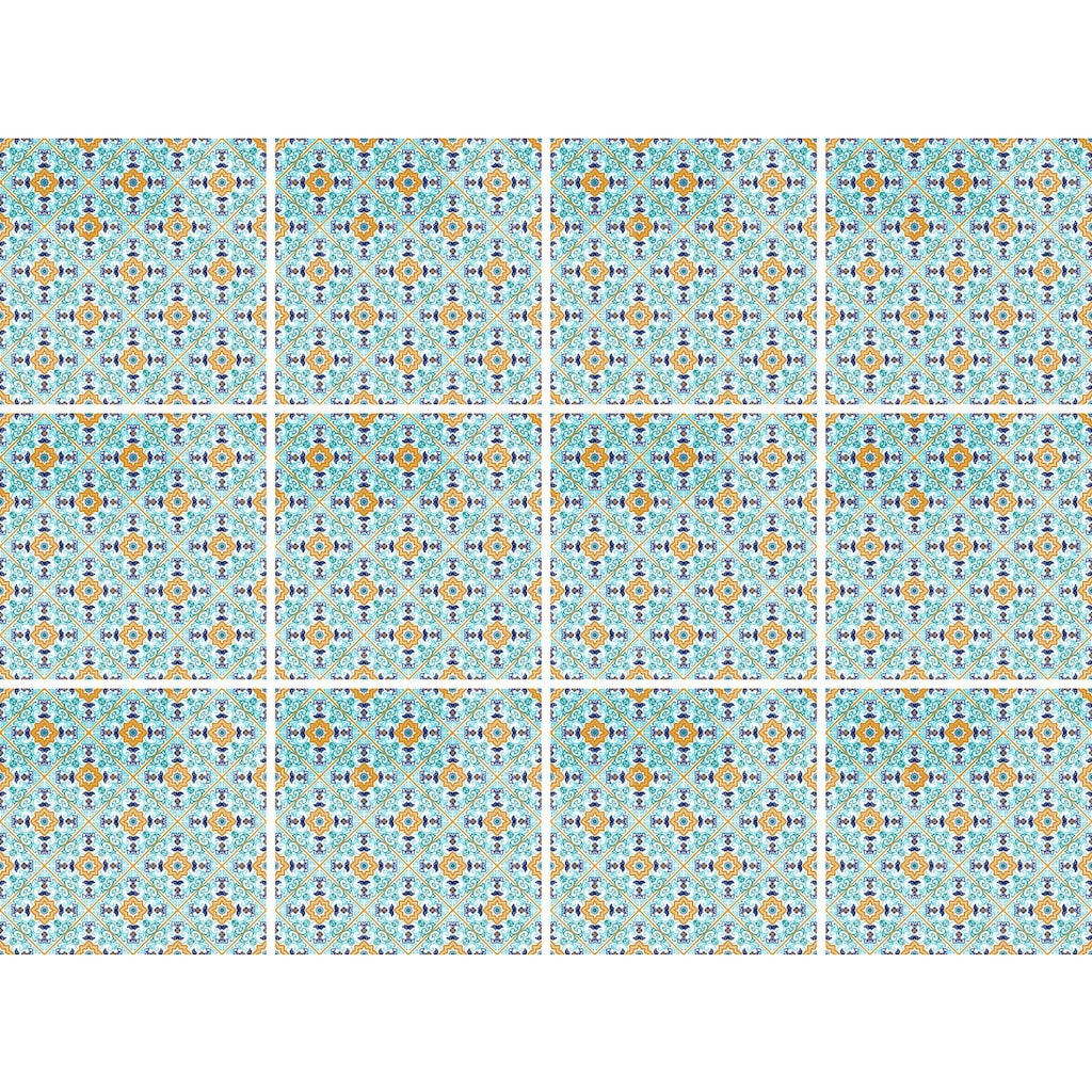queence Fliesenaufkleber »Symmetrie«