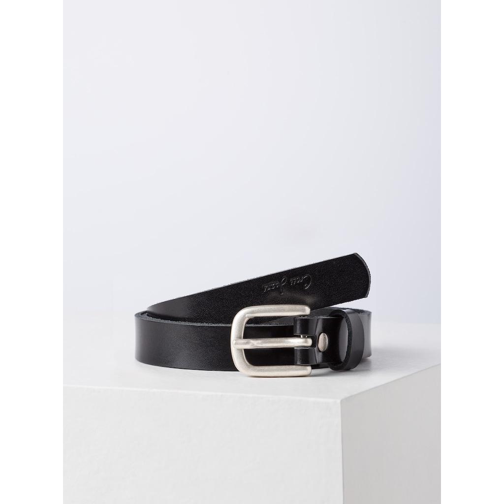 Cross Jeans® Ledergürtel »0422K«, Glänzende Lackoptik