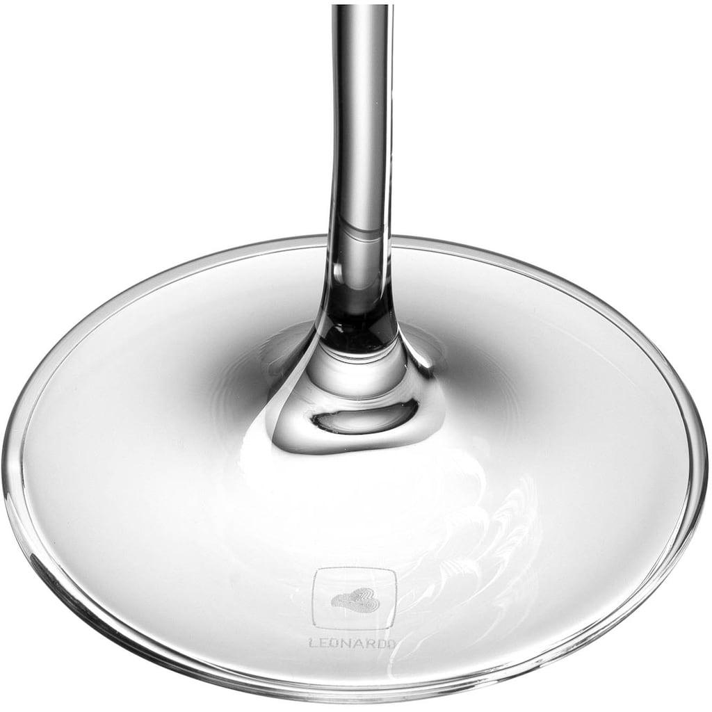 LEONARDO Rotweinglas »Tivoli«, (Set, 6 tlg.), 580 ml, 6-teilig