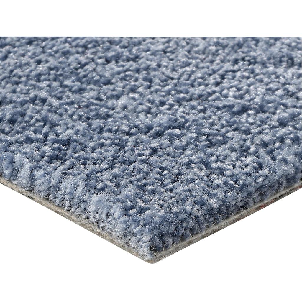 Bodenmeister Teppichboden »Velours gemustert«, rechteckig, 10 mm Höhe, Meterware, Breite 400 cm, uni, Wunschmaß