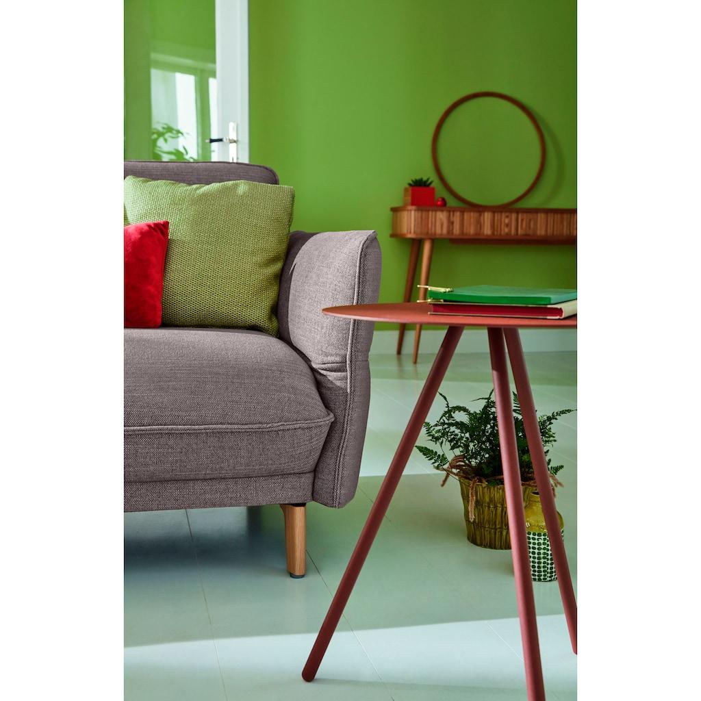 hülsta sofa Ecksofa »hs.430«, Recamiere hoher Rücken mit Neigefunktion, Breite 265 cm