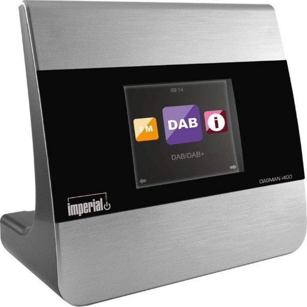 IMPERIAL by TELESTAR Audio-Adapter »DABMAN i400«, (DAB+, UKW und Internetradio)