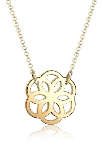 Elli Kette mit Anhänger »Blume Floral Blüte 925 Silber« kaufen