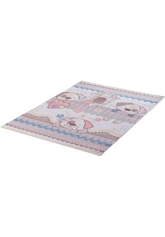 Kinderteppich, »Luna Kids 4603«, Sanat, rechteckig, Höhe 12 mm, maschinell gewebt kaufen