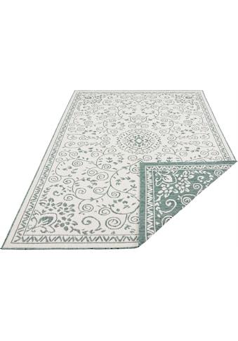 Teppich, »LEYTE«, bougari, rechteckig, Höhe 5 mm, maschinell gewebt kaufen