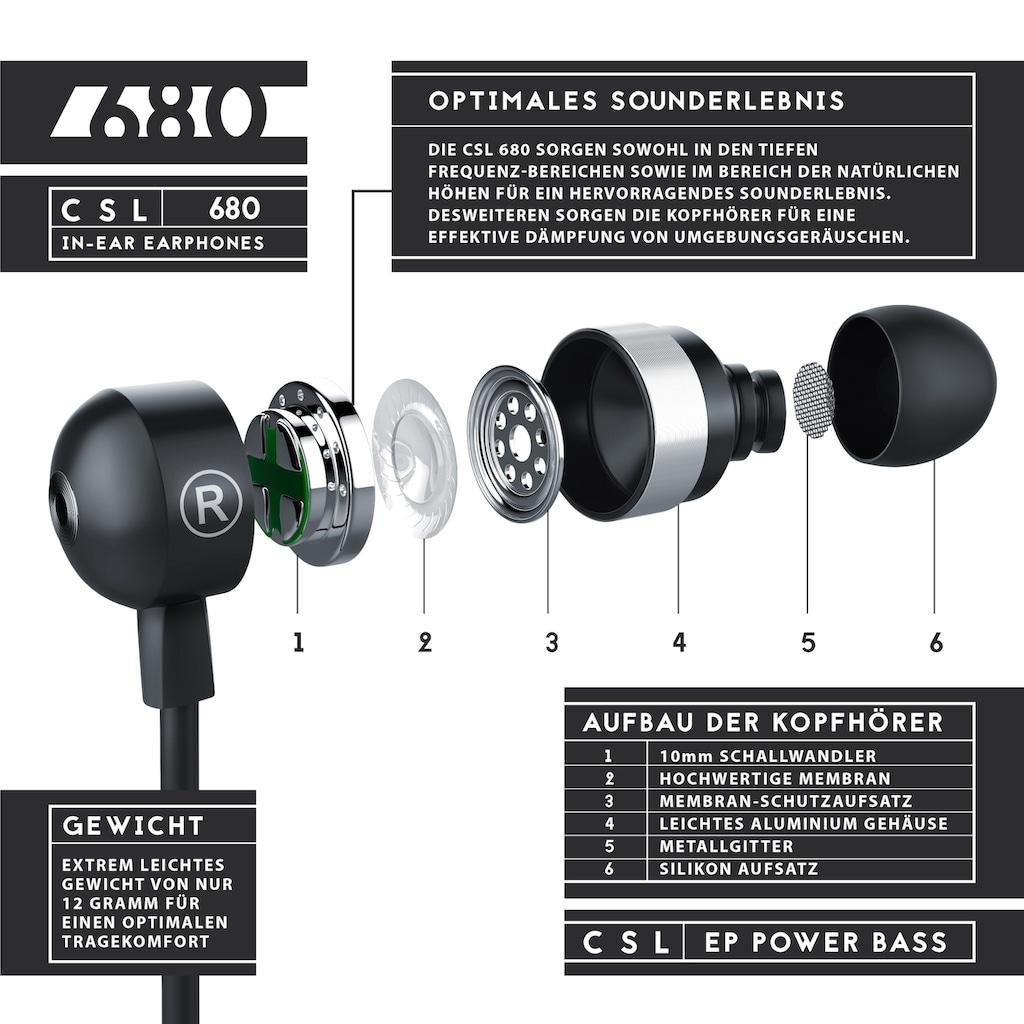 CSL Curved In-Ear Ohrhörer mit 10mm Treiber