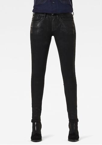 G-Star RAW Skinny-fit-Jeans »Lynn Mid Waist Skinny Jeans«, aus weicher Denimqualität... kaufen