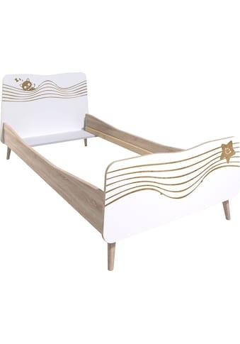 Lüttenhütt Einzelbett »Nethe«, mit Print, Breite 102 cm kaufen