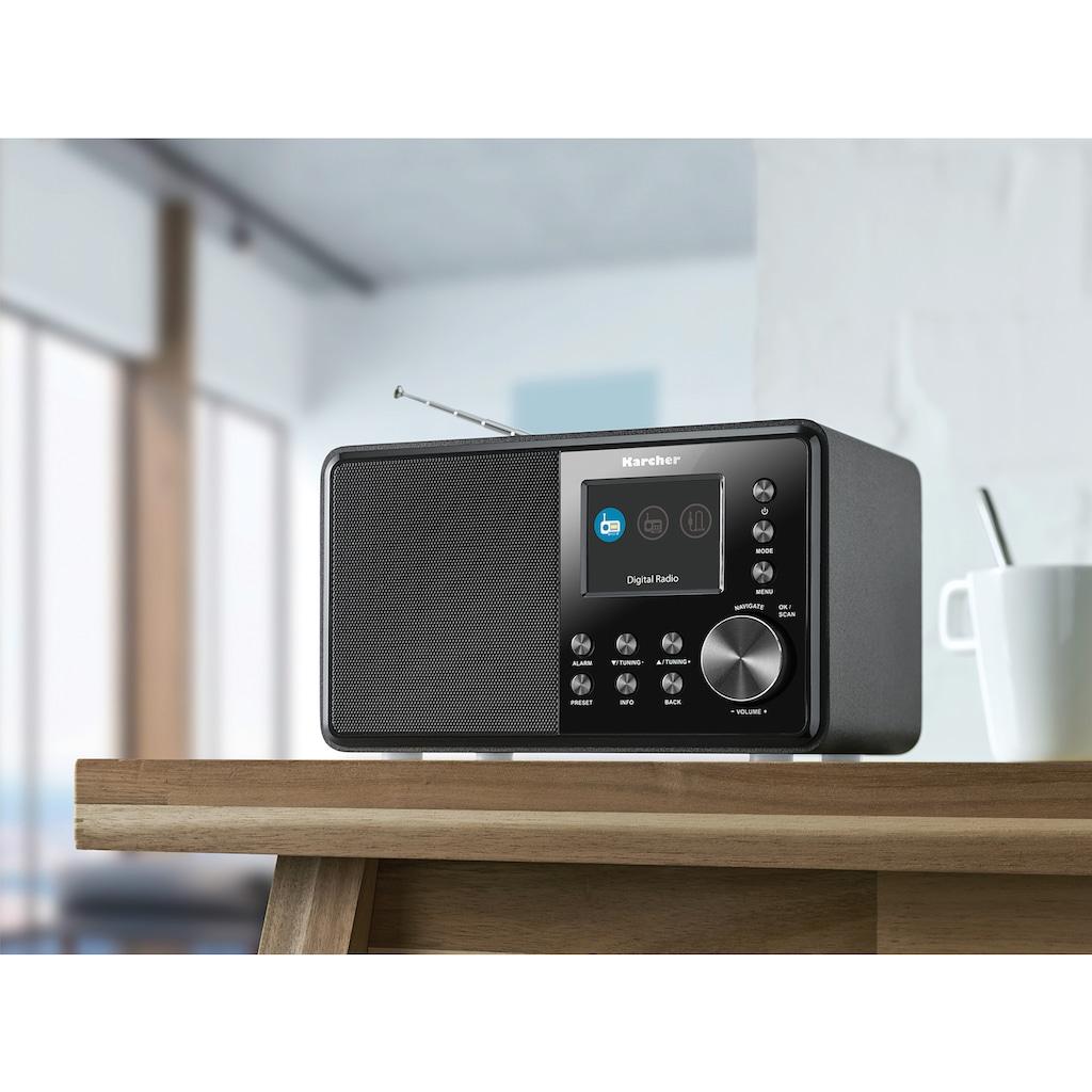 Karcher Digitalradio (DAB+) »DAB 3000«, (Digitalradio (DAB+)-FM-Tuner 3 W)