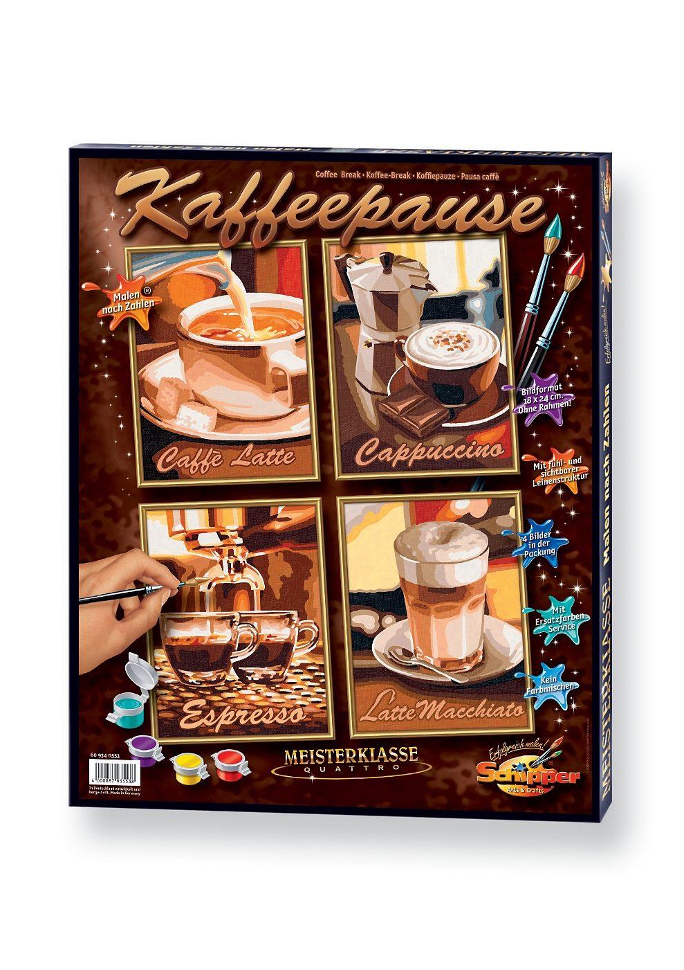 , Malen nach Zahlen, »Quattro - Kaffeepause«