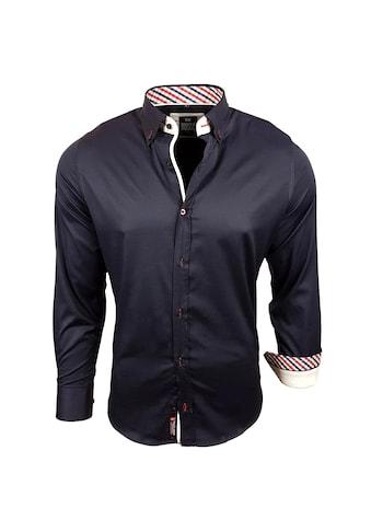Rusty Neal Langarmhemd mit klassischem Button-Down-Kragen kaufen