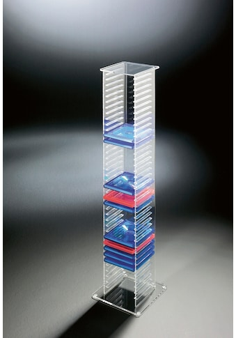 Places of Style CD-Regal »Remus«, aus Acrylglas kaufen