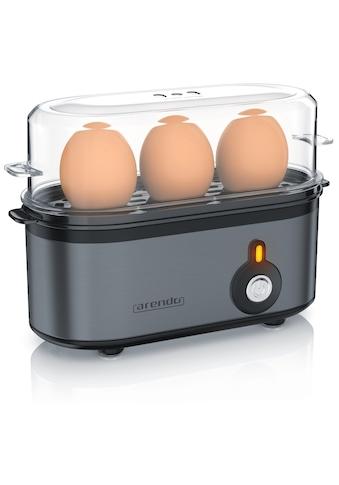 Arendo Edelstahl Eierkocher für 1 bis 3 Eier »Threecook Grey« kaufen