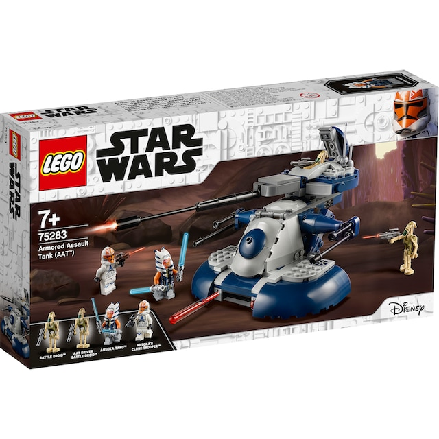 "LEGO® Konstruktionsspielsteine ""Armored Assault Tank (AAT™) (75283), LEGO® Star Wars™"", Kunststoff, (286-tlg.)"
