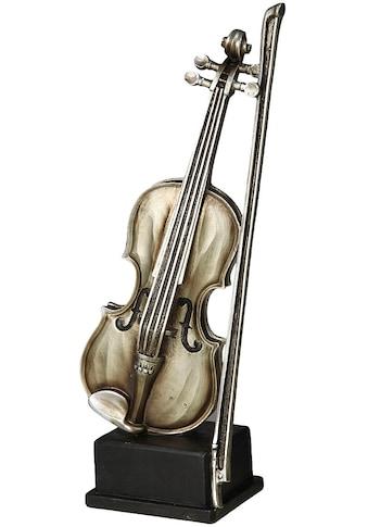 Ambiente Haus Dekofigur »Geige Figur L« kaufen