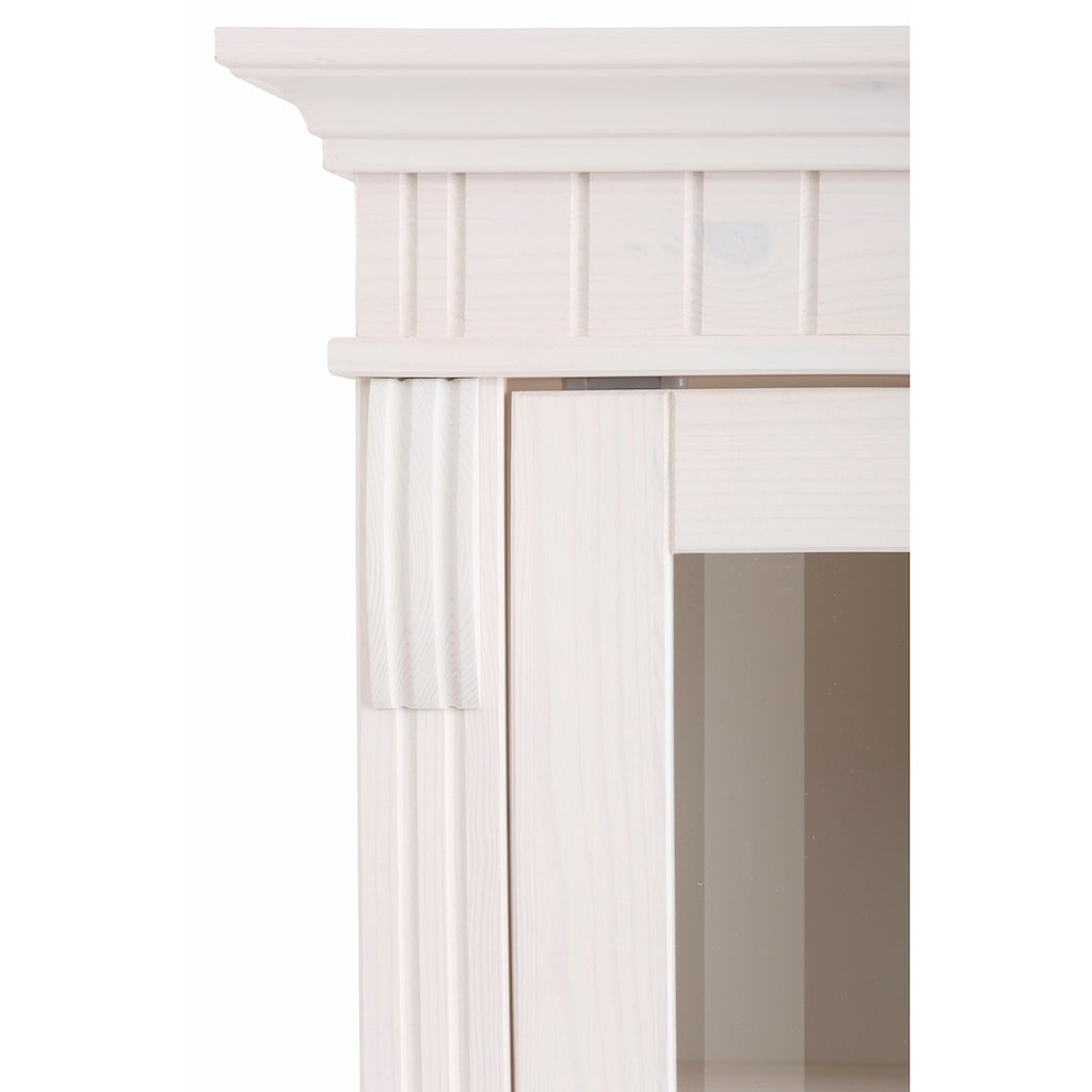 Home affaire Wohnwand »Teresa«, (Set, 3 St.), bestehend aus 1 Vitrine klein, 1 Vitrine groß, 1 Lowboard