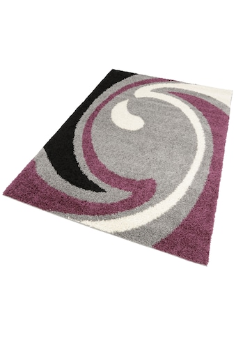 my home Hochflor-Teppich »Tarragona«, rechteckig, 30 mm Höhe, Wohnzimmer kaufen