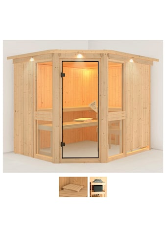Karibu Sauna »Aline 3«, ohne Ofen kaufen