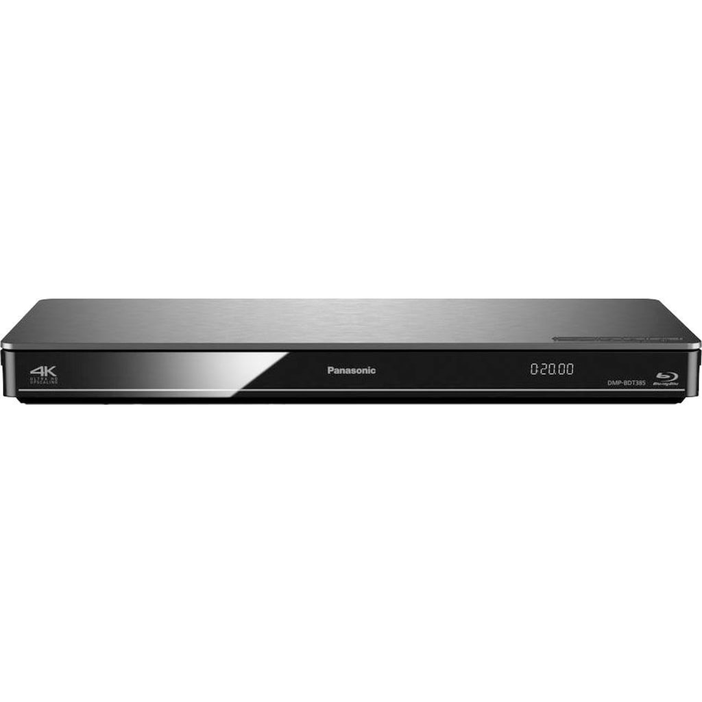 Panasonic Blu-ray-Player »DMP-BDT384/385«, FULL HD (3D) / BD-Video, LAN (Ethernet)-WLAN, 4K Upscaling