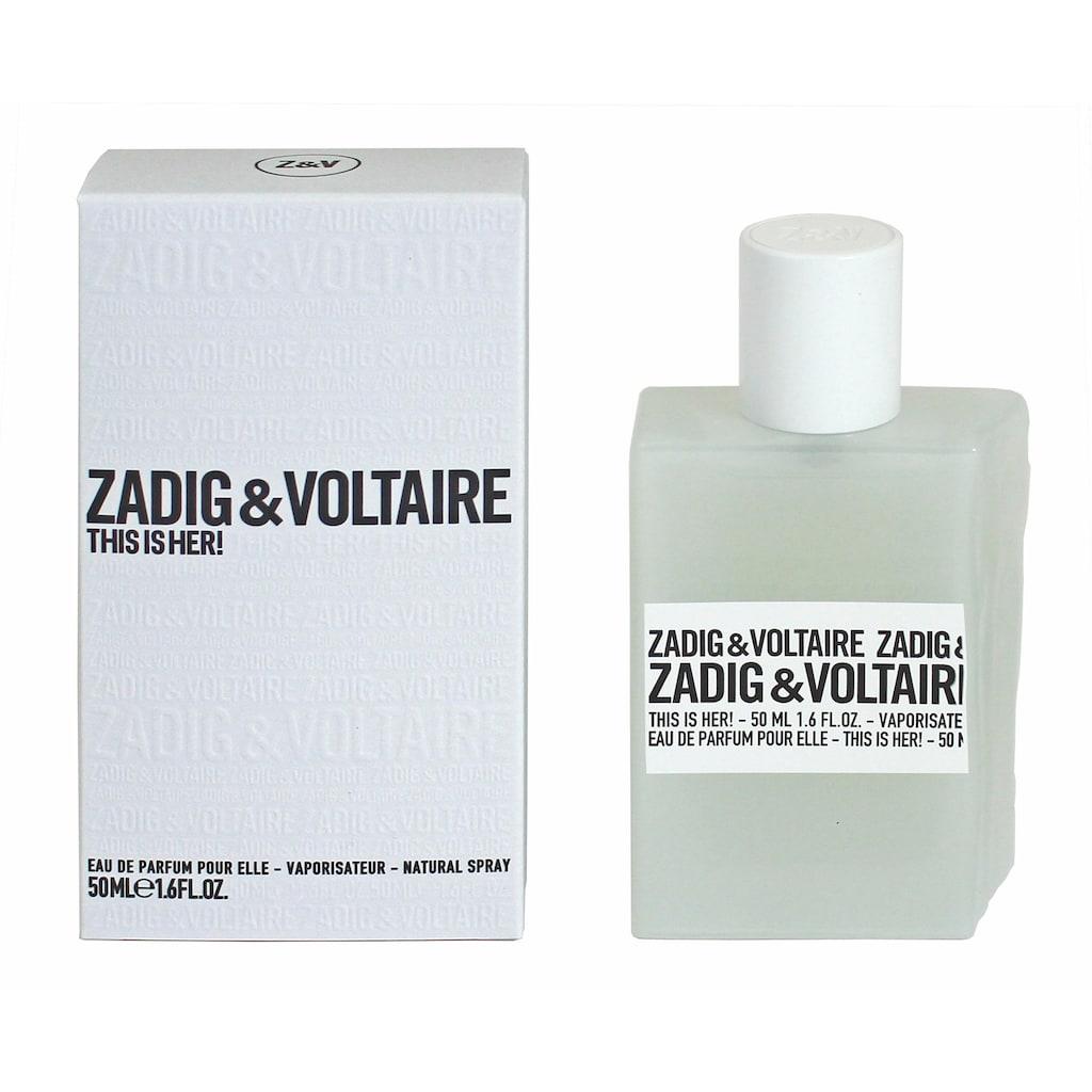 ZADIG & VOLTAIRE Eau de Parfum »This is Her!«