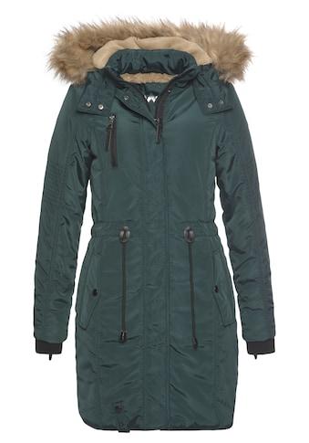 ALPENBLITZ Parka »Wintercharme«, mit kuschelig gefütterter Kapuze und abnehmbaren... kaufen