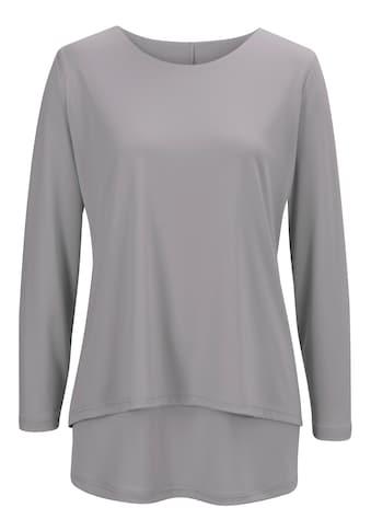 Classic Basics Shirt im beliebtem Lagen - Look kaufen