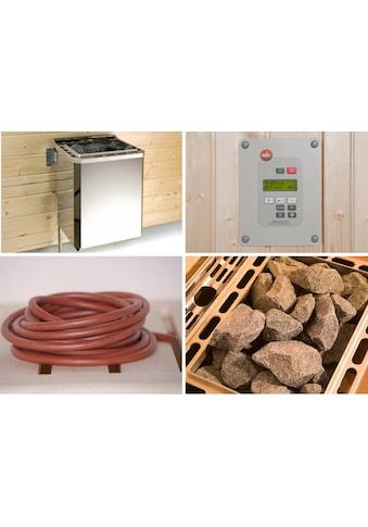 WEKA Set: Bio - Kombiofen »BioS«, 9 kW, externe Steuerung, inkl. Zubehör kaufen