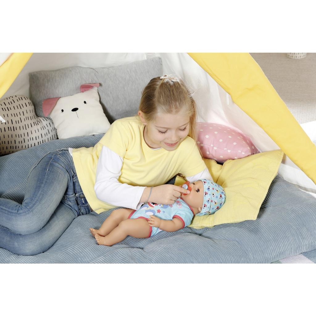 Baby Born Babypuppe »Magic Boy, 43 cm«, (Set, 13 tlg.), mit 10 lebensechten Funktionen