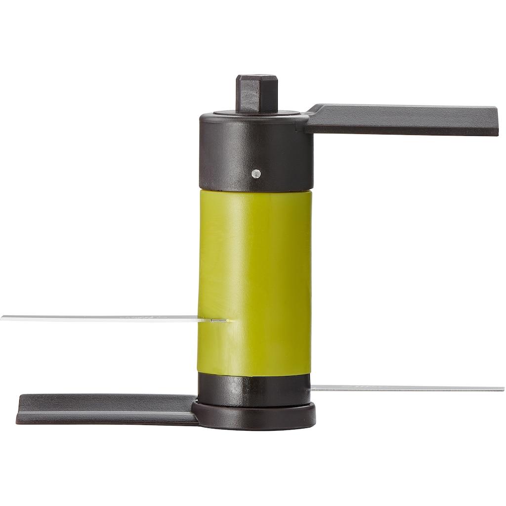 Tefal Zerkleinerer »5-Sekunden-Zerkleinerer«, K13204, 900 ml Fassungsvermögen, Edelstahlklingen, rutschfester Boden, Schwarz/Grün